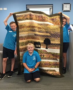 Quilt donation March 2019